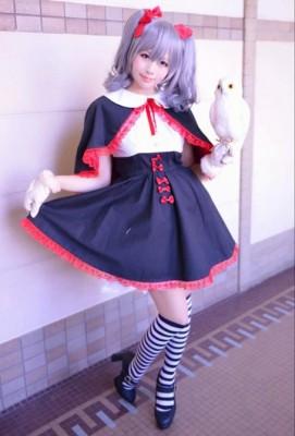 THE IDOLM@STER CINDERELLA GIRLS アイドルマスター シンデレラガールズ 神崎蘭子 かんざき らんこ コスプレ衣装