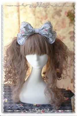 ロリータ髪飾り Lolita 可愛い蝶結び 人気新品