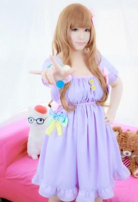 THE IDOLM@STER CINDERELLA GIRLS アイドルマスター シンデレラガールズ 諸星きらり コスプレ衣装
