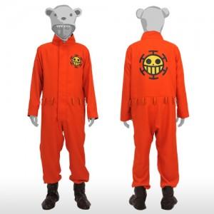 ONE PIECE / ワンピース ハートの海賊団 航海士 ベポ つなぎ  コスプレ衣装  制服 コスチューム