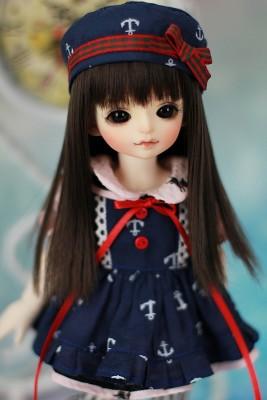 セーラー服 柚柚 ちゃん1/6 BJD 人形 ガール BJD 人形