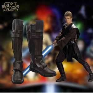 スター・ウォーズ Star Wars オビ=ワン・ケノービ ベン・ケノービ ジェダイ カイロレン コスプレ靴 ブーツ スターウォーズ