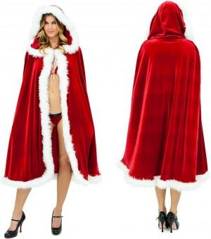 クリスマスマント サンタコスプレ パーティー 仮装コスチューム