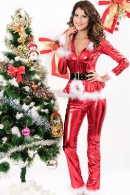 大人気新品 グラマラスクリスマス衣装 サンタコスプレ