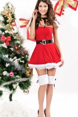 クリスマス仮装パーティー クリスマス衣装 サンタコスプレクリスマス コスチューム
