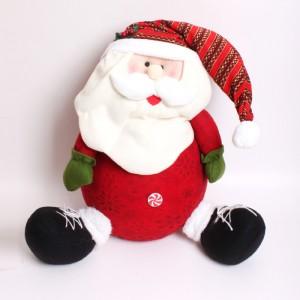 クリスマス人形 ドール ぬいぐるみ クリスマススノーマン/サンタクロース