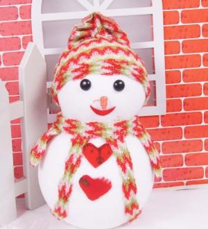 クリスマスオーナメント スノーマン 人形 ドール