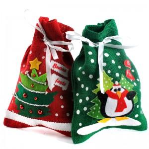 かわいいクリスマスサンタ袋 クリスマス 飾り パーティー グッズ