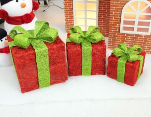 クリスマス オーナメント クリスマスツリー 飾り 大中小3点セット
