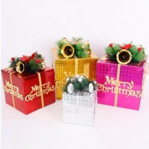 クリスマスツリー飾り ギフトボックスオーナメント パーティー グッズ デコレーション 装飾