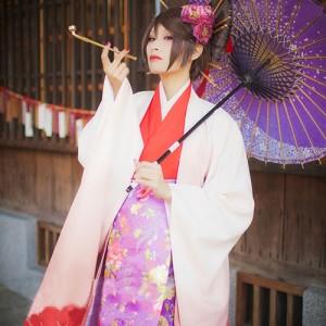 VOCALOID 初音ミク 千本桜 花魁和服 コスプレ衣装