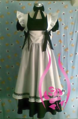 メイド服 ウィンザーメイド(黒白)衣装   制服 コスチューム コスプレ衣装