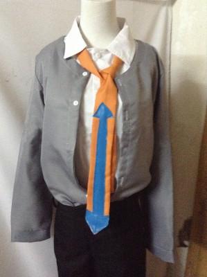 ダンガンロンパ 希望の学園と絶望の高校生 山田一二三 コスブレ衣装  コスチューム