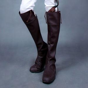 進撃の巨人 エレン・イェーガー コスプレ靴ブーツ