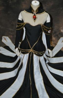 コードギアス 反逆のルルーシュ  シー・ツー CC 皇後装 コスプレ衣装