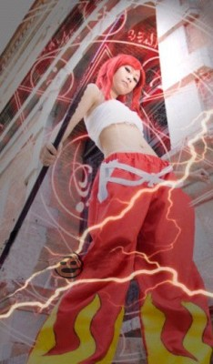 コスプレ衣装 フェアリーテイル Fairy Tail  エルザ・スカーレット コスチューム