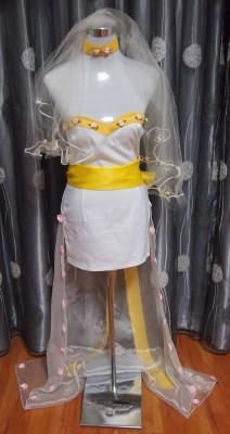 コードギアス C.C風 ウェディングドレス コスプレ衣装