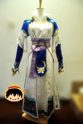 真・三國無双7 魏 蔡文姫 後漢の議郎蔡邕の娘 コスプレ衣装