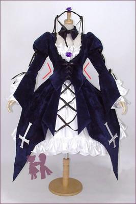 ローゼンメイデン(Rozen Maiden)  薔薇乙女 水銀燈(すいぎんとう/Mercury Lampe) コスプレ衣装