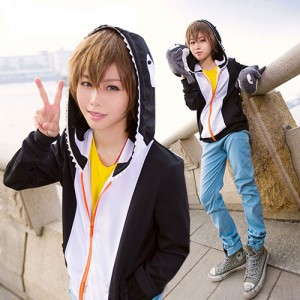 Free!(フリー)橘 真琴(たちばな まこと)パーカー  運動服 ペンギン服 パーカー コスプレ衣装