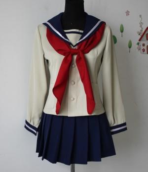 いなり、こんこん、恋いろは。風・伏見 いなり(ふしみ いなり) 墨染 朱美(すみぞめ あけみ) 藤草中学校女子制服・コスプレ衣装・コスチューム