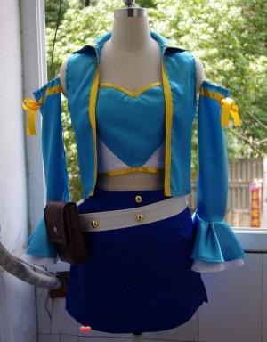 FAIRY TAIL フェアリーテイル ルーシィハートフィリア コスプレ衣装