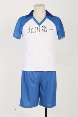 ハイキュー!! 北川第一中学  排球部  バレー制服 風 ユニフォーム 影山 飛雄  コスプレ衣装