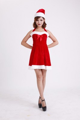 クリスマスパーティー ドリームガール サンタドレス
