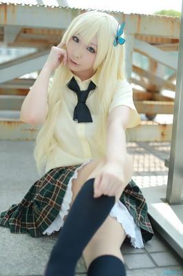 僕は友達が少ない 三日月夜空/柏崎星奈 夏用制服 コスプレ衣装