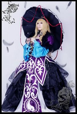 東方Project 紅魔城伝説 八雲紫風 (やくもゆかり)  コスプレ衣装