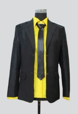 黒子のバスケ キセキの世代 海常高校 黄瀬涼太(きせ りょうた) スーツ 黒風 コスプレ衣装