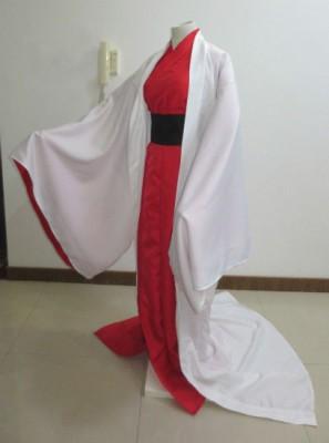 夏目友人帳 斑(まだら)擬人 赤白和服 コスプレ衣装