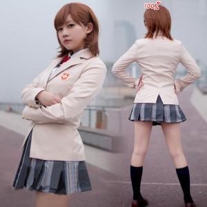 とある科学の超電磁砲/とある魔术の禁书目録 御坂美琴(みさか みこと)女子制服 コスプレ衣装