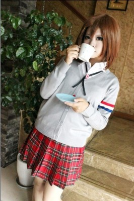 K-ONけいおん! 劇場版 ロンドン イギリス風 セーター コスプレ衣装