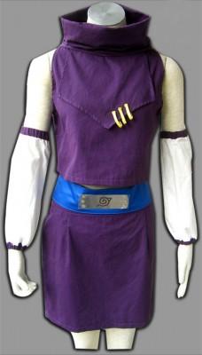 NARUTO -ナルト- 木ノ葉隠れの里(火の国) 山中いの(やまなか いの) 1代目服装 コスプレ衣装