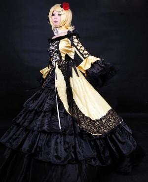 ボーカロイド VOCALOID / V家 悪ノ娘 鏡音リン 悪ノ娘 悪ノ大罪 悪食娘 ドレス コスプレ衣装