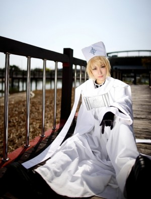 07-GHOST フラウの服(セブンゴースト) コスチューム、コスプレ衣装