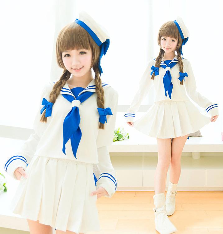白いセーラー服 制服