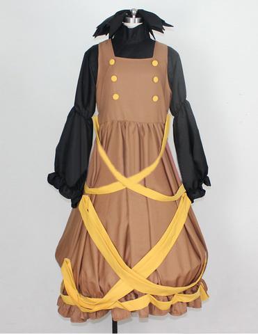 東方地霊殿 黒谷ヤマメ コスプレ衣装