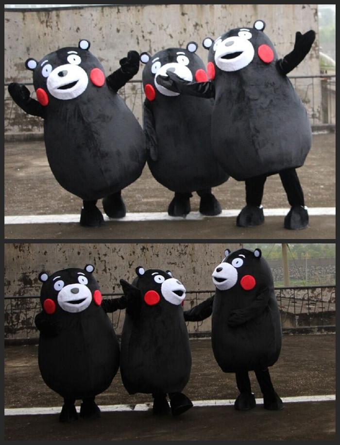 熊本熊人形舞台 コスチューム