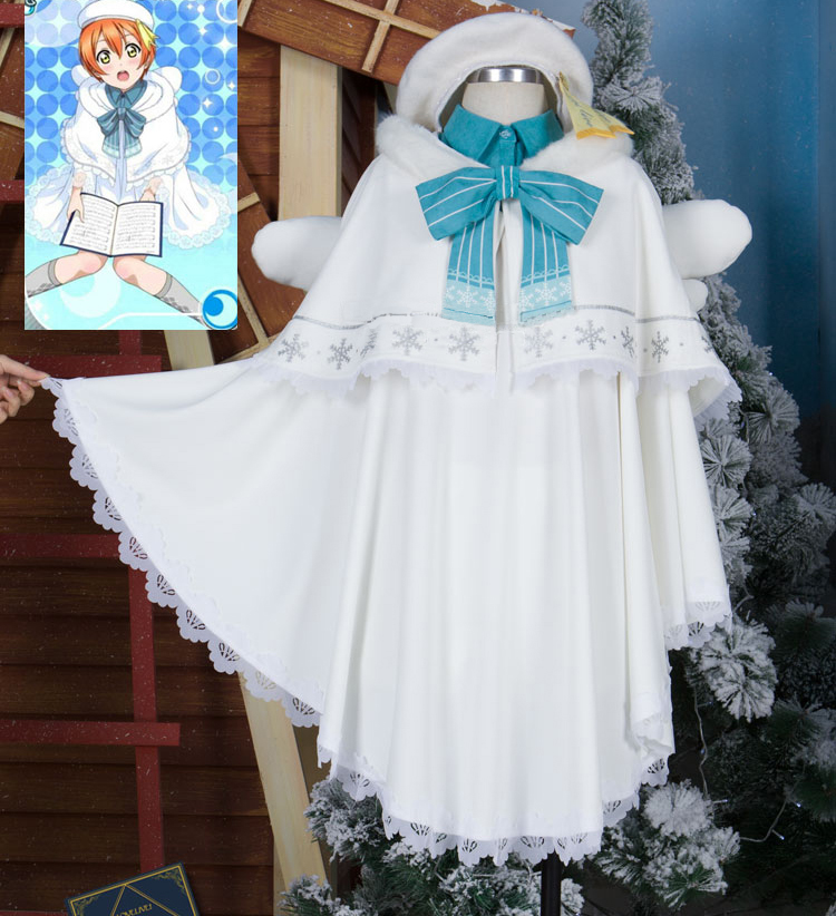 星空凛クリスマス詩唱班編聖歌隊コス