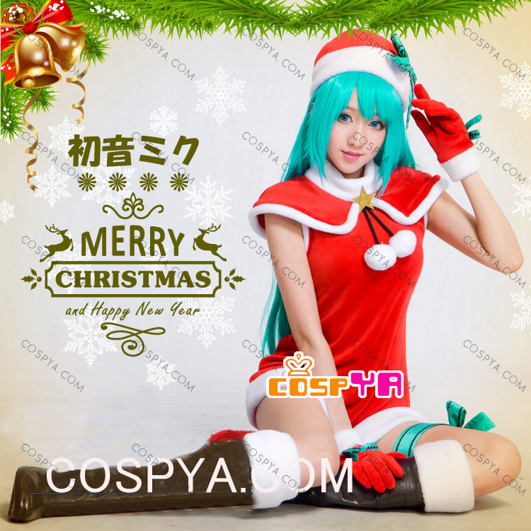 初音ミク/巡音ルカのクリスマス衣装