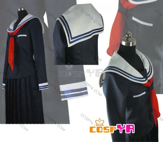 高品質コスプレ衣装 ダンガンロンパ 希望の学園と絶望の高校生 腐川冬子 COS衣装