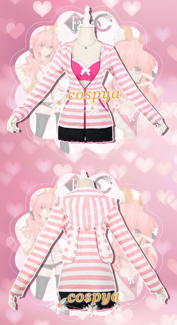 2f57a96a517609 コスプレ衣装」 春夏定番の縞紋様、牡丹色と桃色の絶妙な調和がとても優しい 可愛いフードは襟元のアクセントになれる。 ストラップ交換可能なデザイン