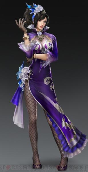 『真·三國無双7』甄姫のコスプレ衣装